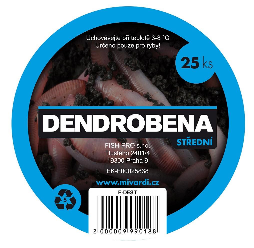 Dendrobena střední 25ks