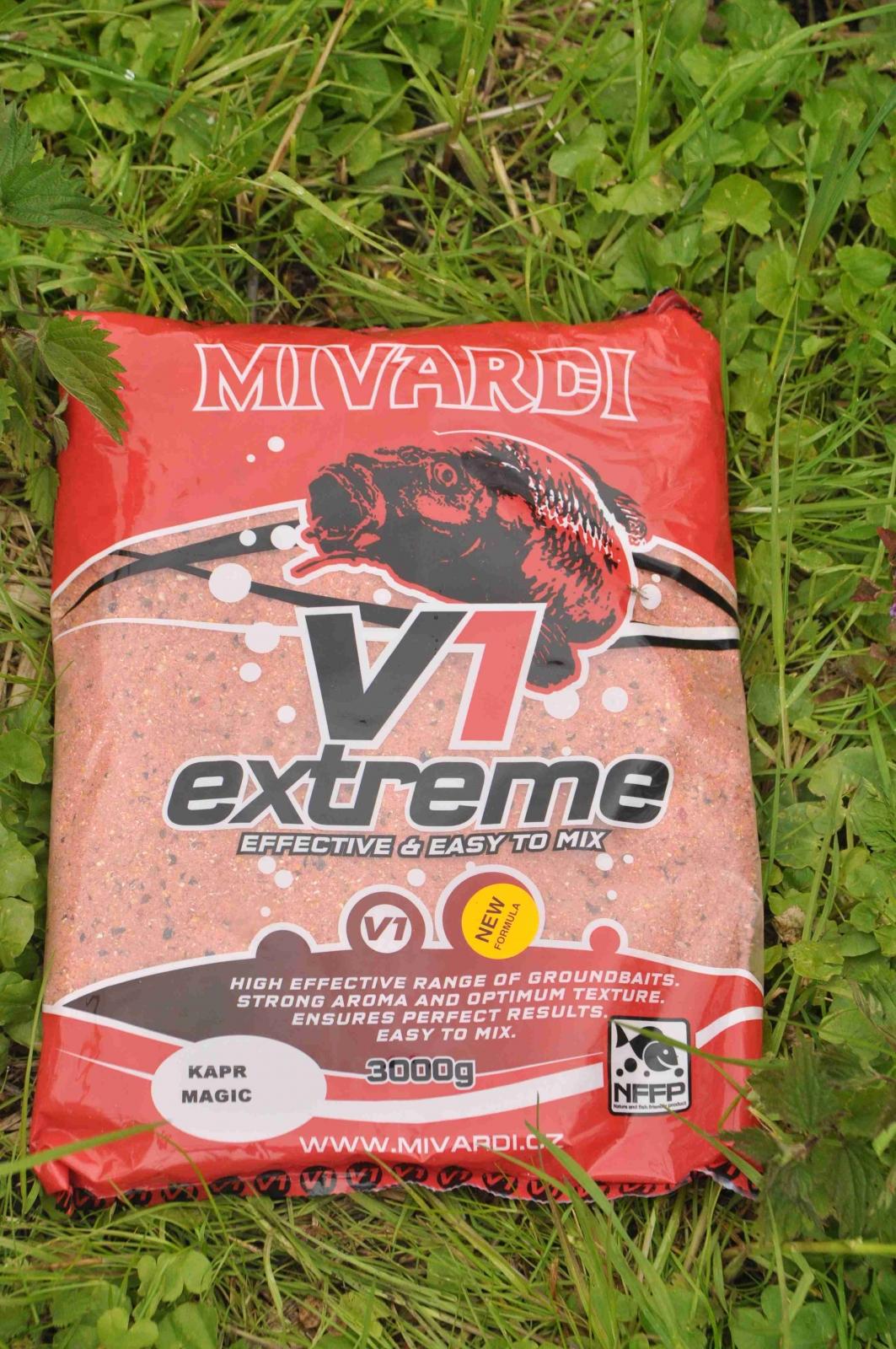 Vnadící směs Mivardi V1 Kapr Magic 3 kg