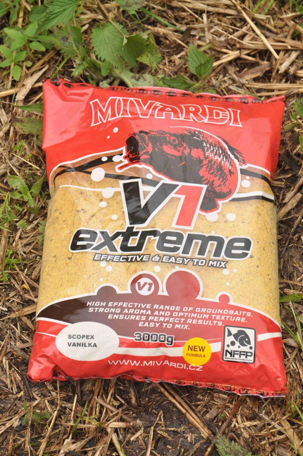 Vnadící směs Mivardi V1 Scopex/Vanilka 3 kg