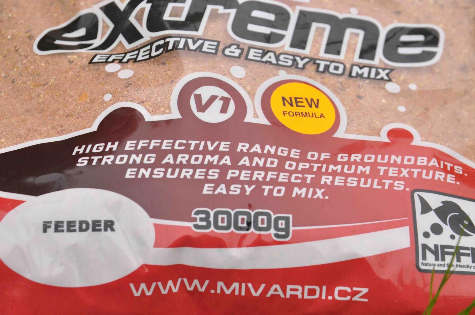 Vnadící směs Mivardi V1 Feeder 3 kg