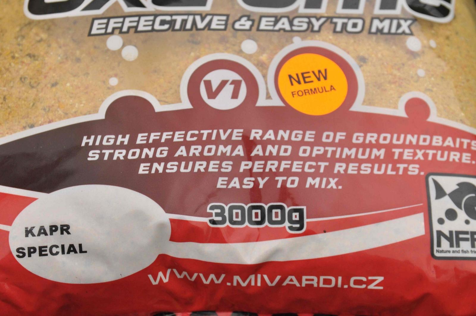 Vnadící směs Mivardi V1 Kapr Special 3 kg