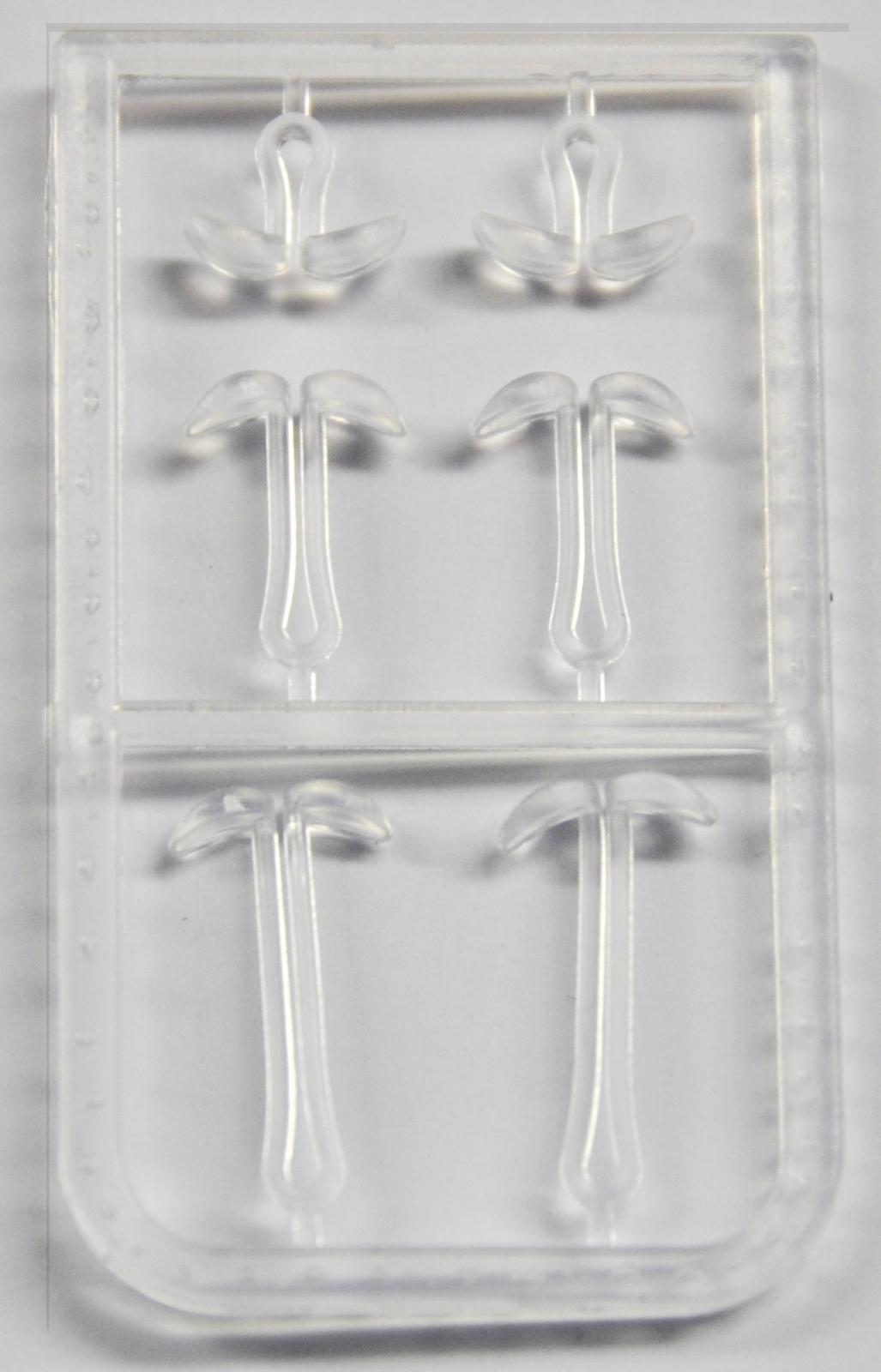 MIVARDI Prodlužující zarážky na boilies V (čiré - 2x6ks)