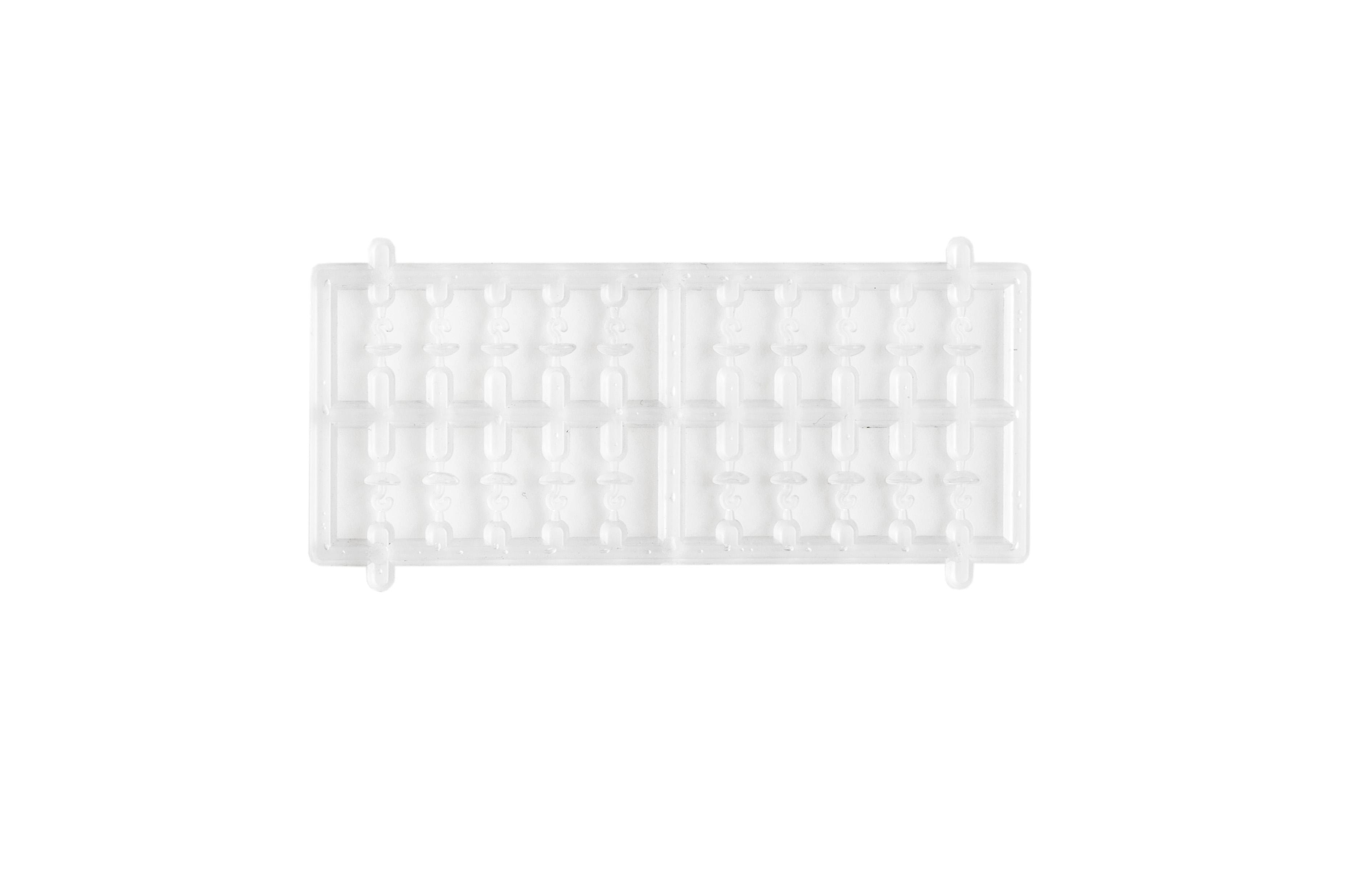 MIVARDI Zarážky cap stoppers (čiré - 2x20ks)