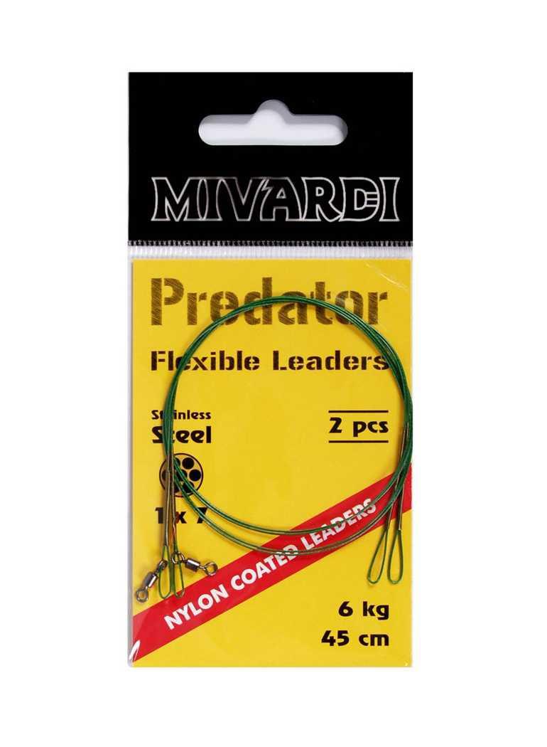 MIVARDI Mivardi Predator - lanko obratlík + očko 9 kg