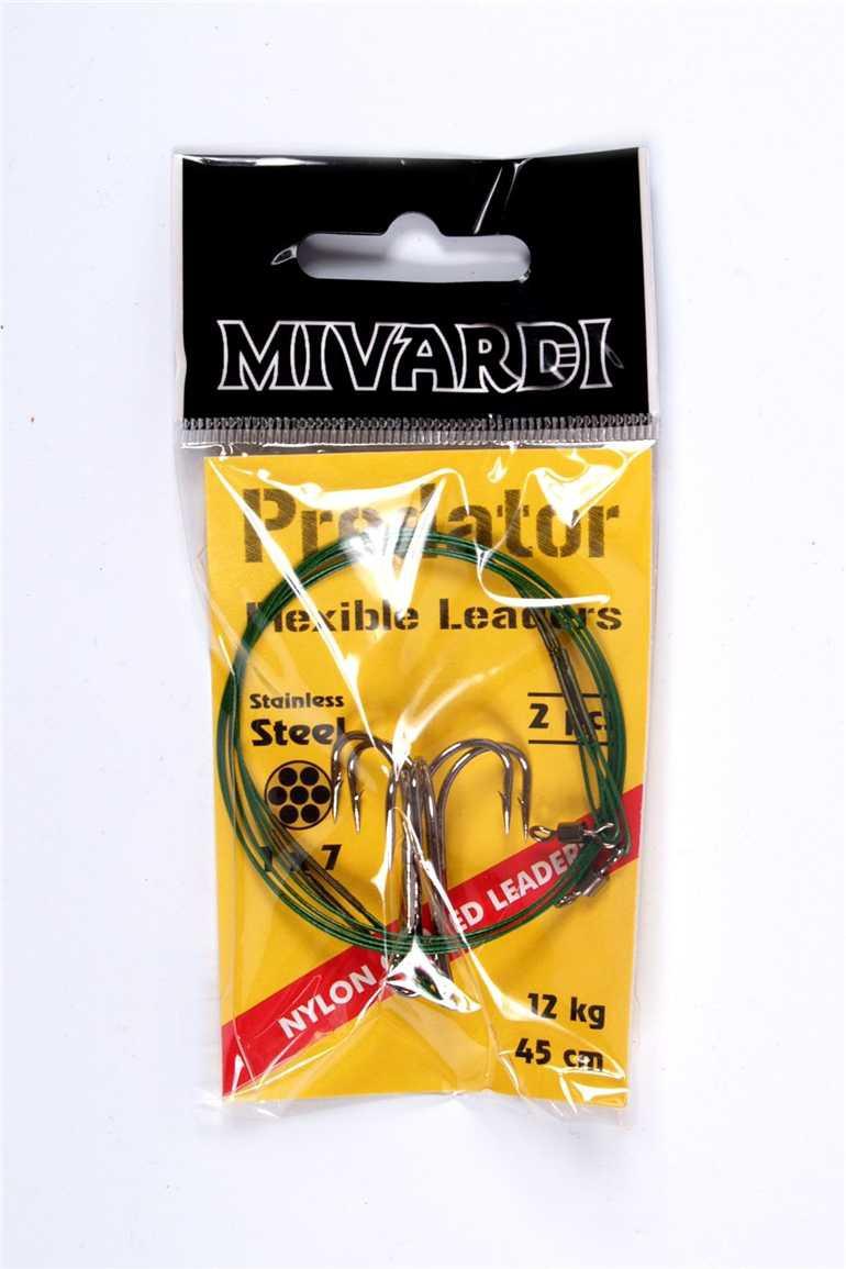 Mivardi Predator - lanko obratlík + trojháček 6 kg
