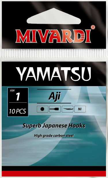Háčky Mivardi Yamatsu Aji 10ks #12