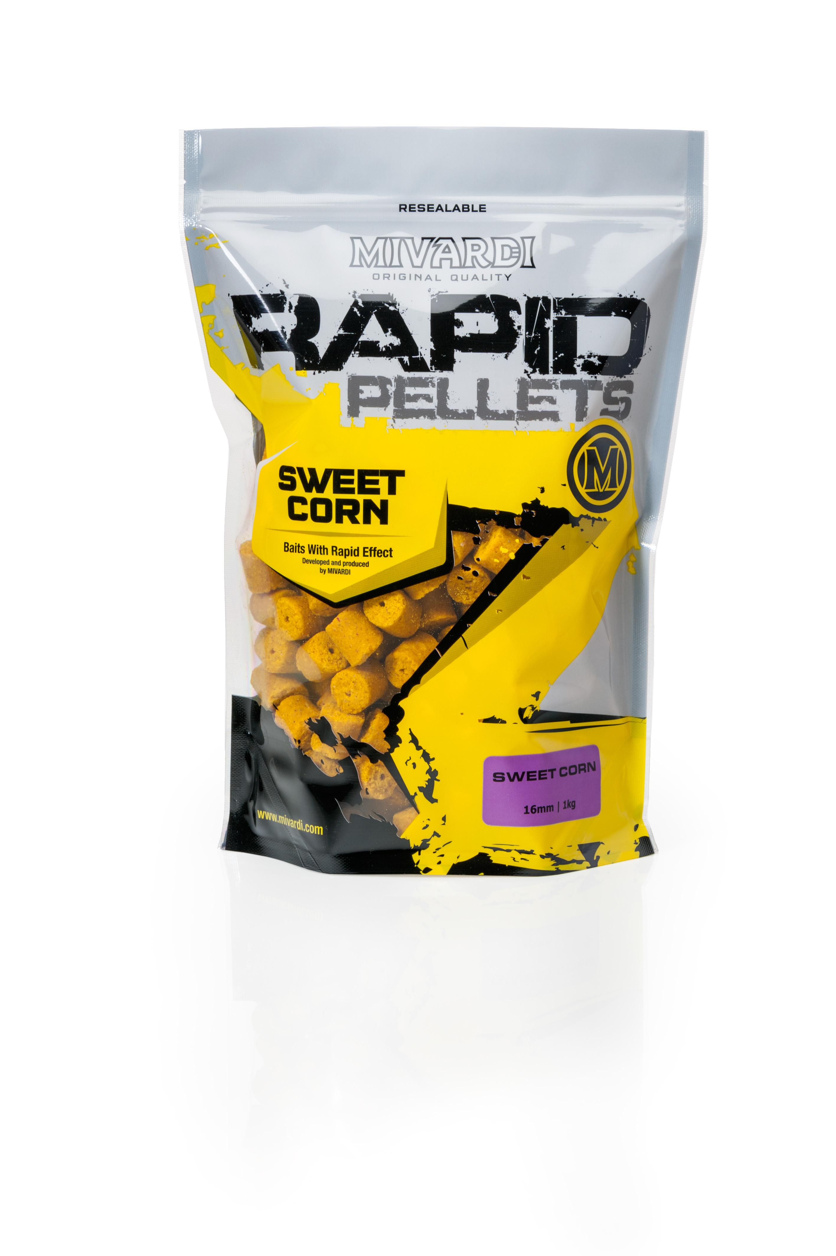 Pelety Rapid SweetCorn 1 kg 4 mm