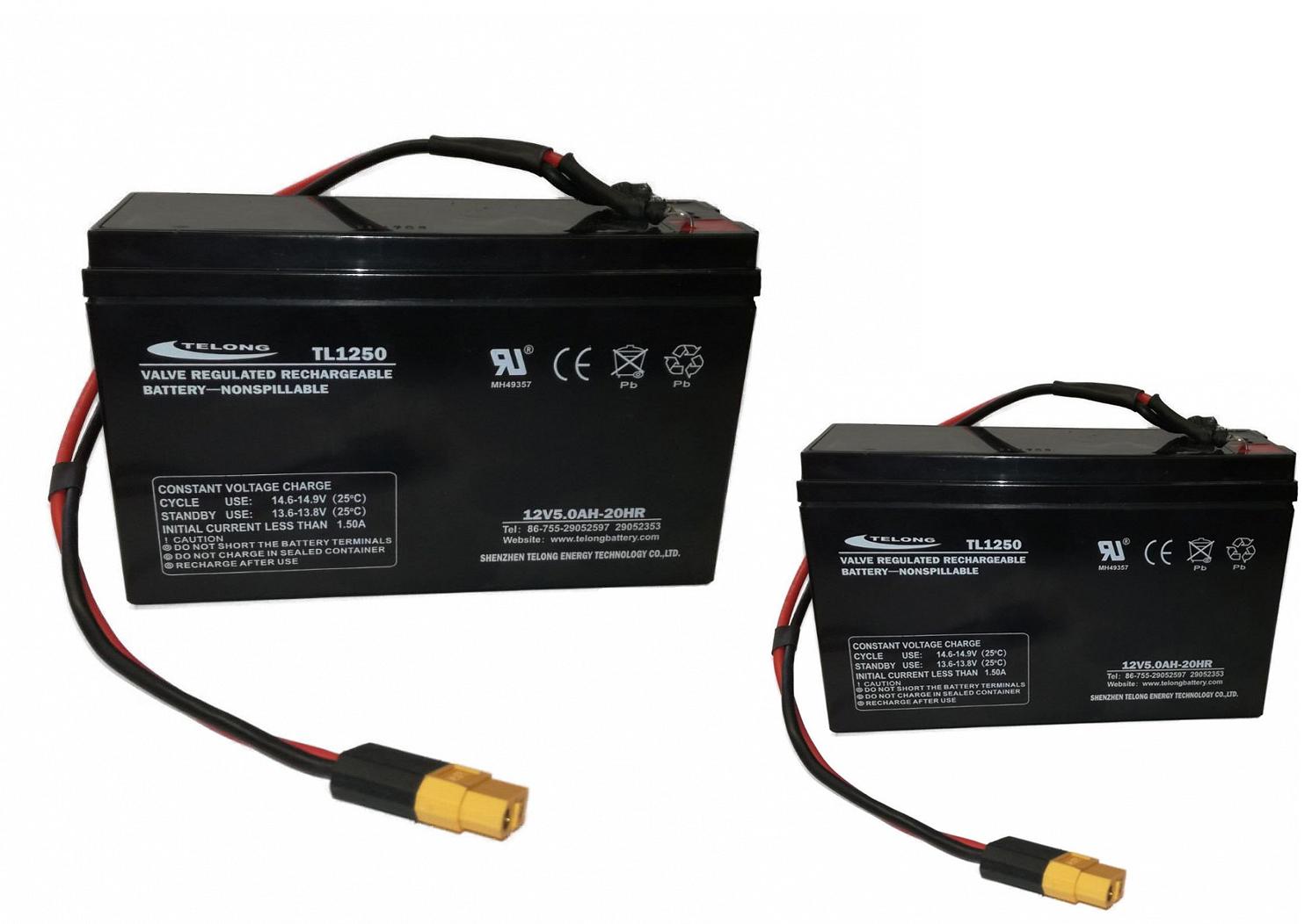 Náhradní baterie pro zavážecí lodičku Carp Scout - LA 10Ah (set)