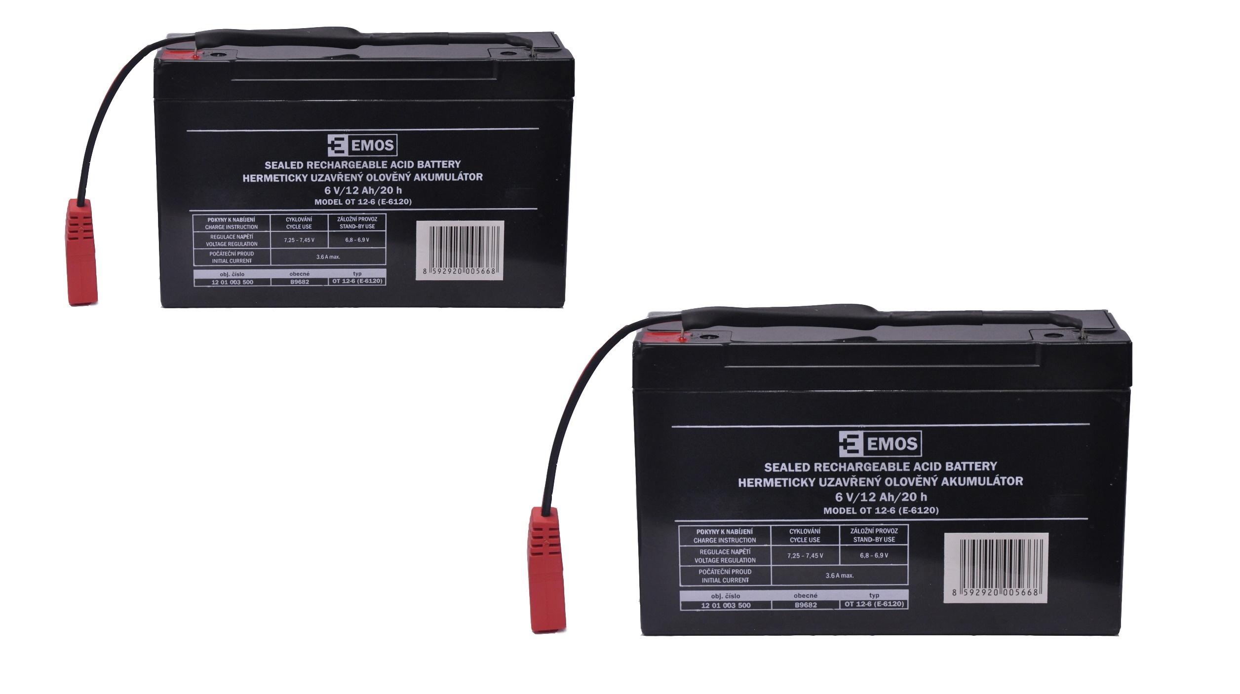 Náhradní baterie pro zavážecí lodičku Carp Scout - 10Ah (set)