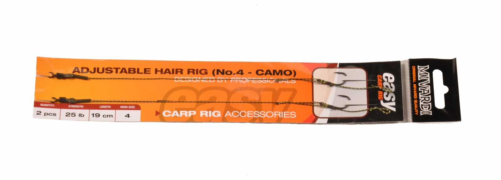 Adjustable hair rig Easy vel.2 camo