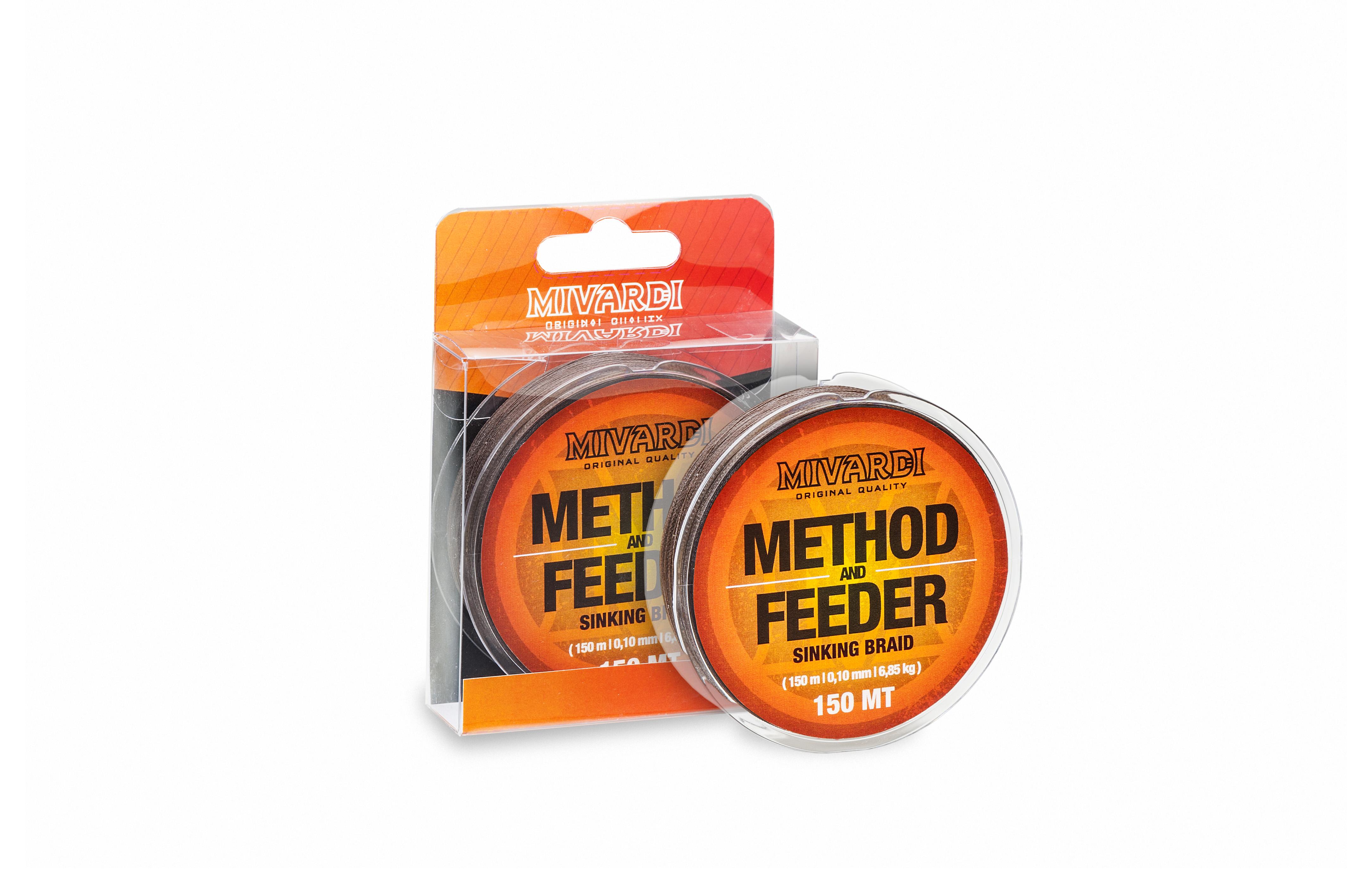 Method & Feeder Sinking Braid    150m     0,10mm