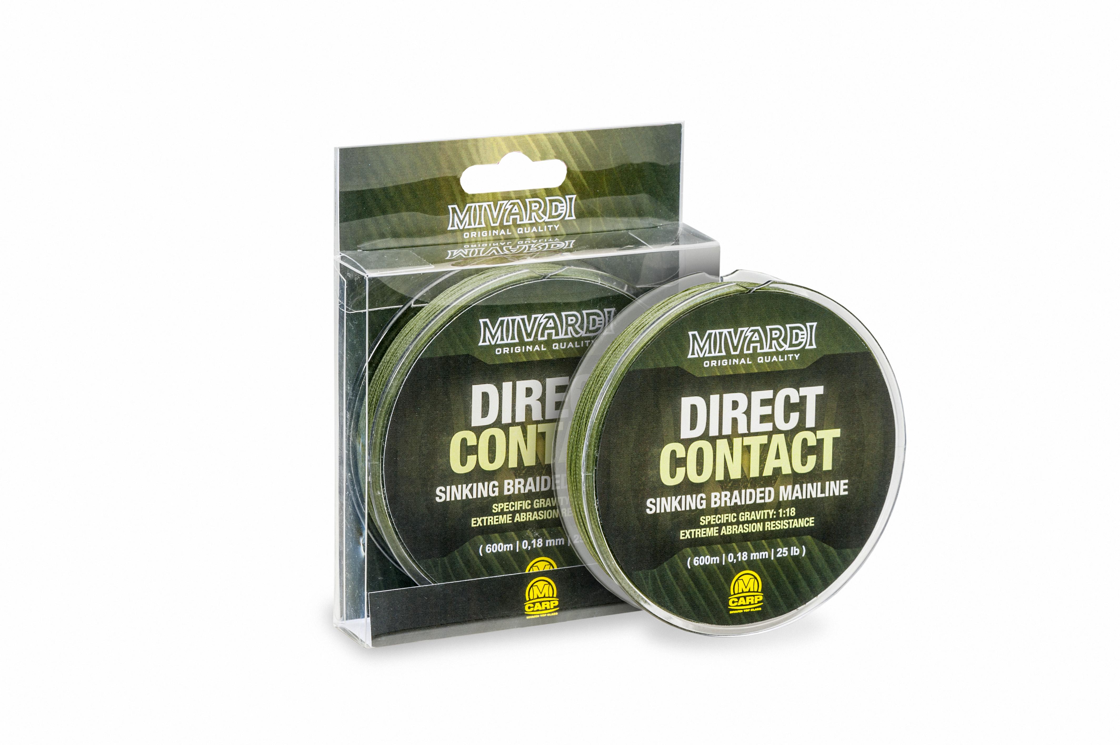 DirectContact Sinking braid 0,18mm    1200m   (25lb)