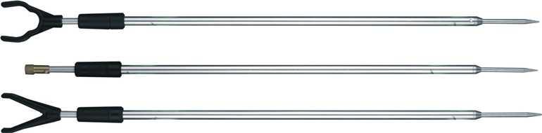 Vidlička hliníková s hrotem - 125 cm  závit