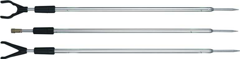 Vidlička hliníková s hrotem - 90 cm  závit